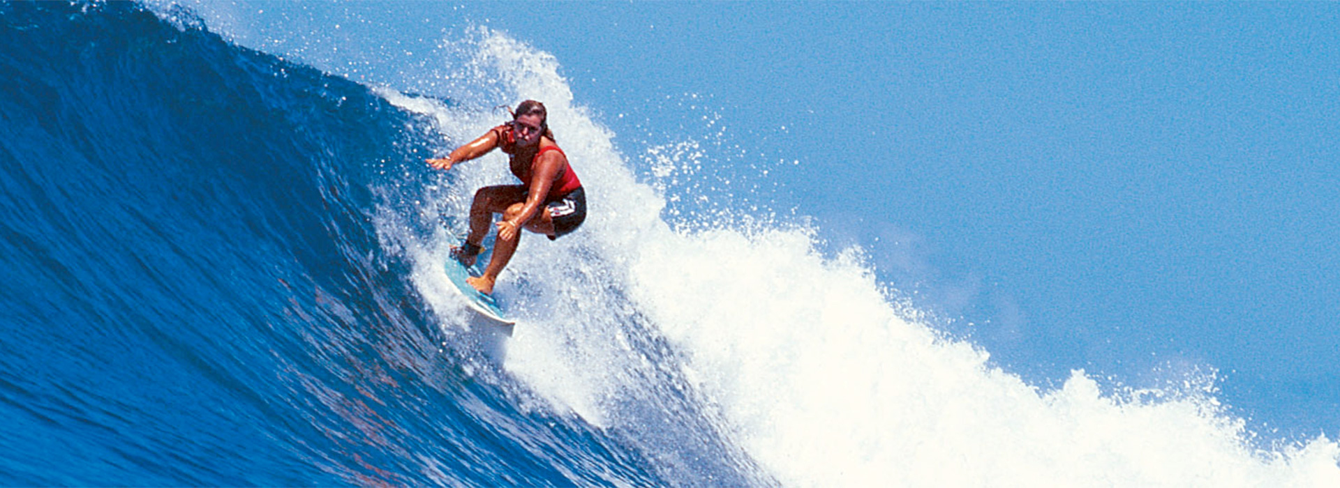 Nancy Emerson Surfing